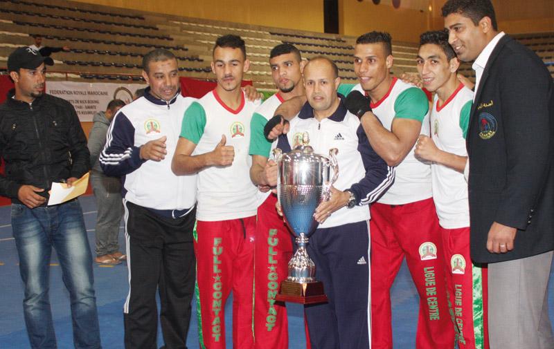 Coupe du Trône de full contact: Les Ligues du centre et Tadla-Ouardigha consacrées
