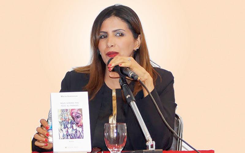 Maria Guessous : «Chevaucher d'une plume à l'autre est un exercice fascinant et excitant»