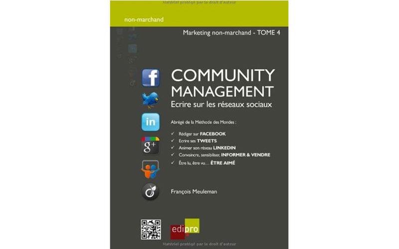 Sélection livres: Community Management – écrire sur  les réseaux sociaux