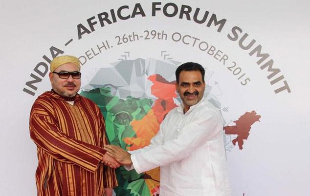 SM le Roi prend part ce jeudi  au Forum «Inde-Afrique»