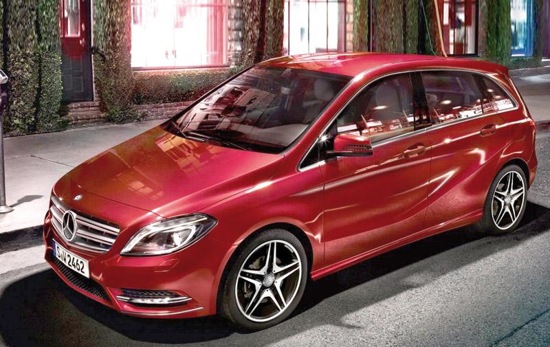 Mercedes : Une nouvelle Classe B en 2017