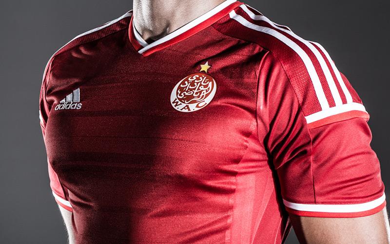 Adidas et le WAC lancent le nouveau maillot pour la saison 2014-2015