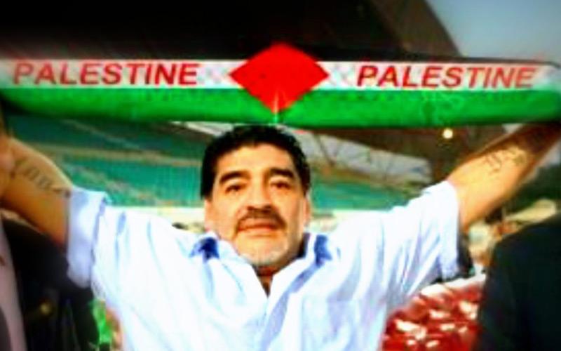 Football : Maradona futur sélectionneur de la Palestine ?