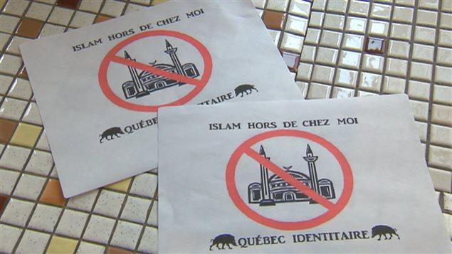 Québec : Trois mosquées cibles de messages anti-islam