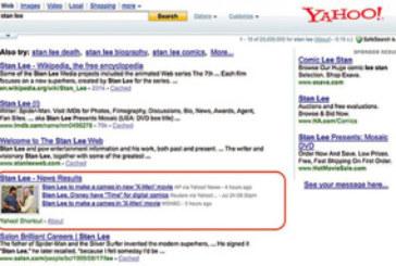 Yahoo Search Pad sert de boîte noire de recherche