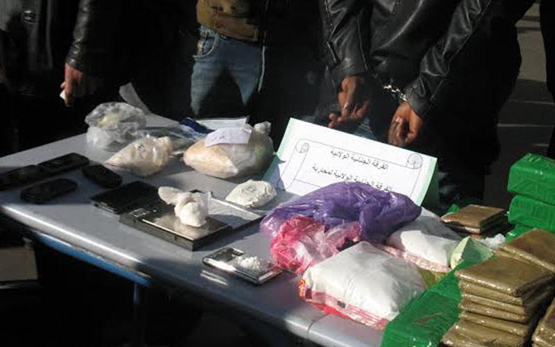 Casablanca :  Saisie de cocaïne, haschich, kif, tabac et armes blanches