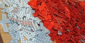 Mohammedia : Saisie de 100 comprimés  d'ecstasy chez un trafiquant