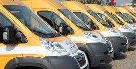 INDH: Remise de 3 bus scolaires et d'une ambulance à des communes de Taounate