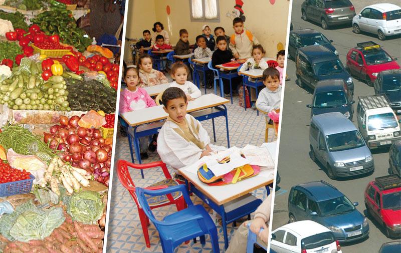 Maroc: L'enseignement et les transports coûtent cher en 2014