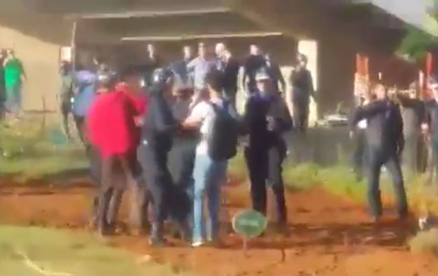 Violences à la faculté de médecines de Rabat