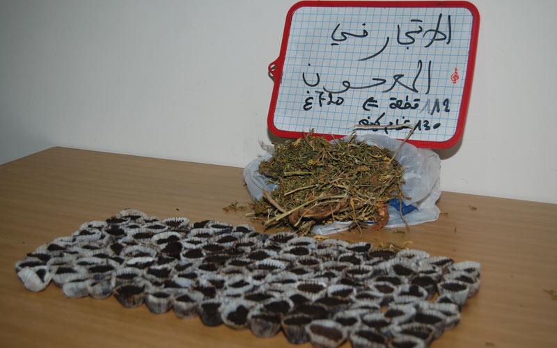 Benslimane : Arrestation d'un vendeur de Maâjoune devant les établissements scolaires