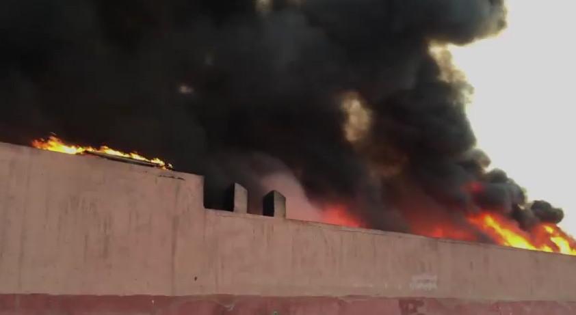 Incendie dans un atelier de réparation automobile à Marrakech