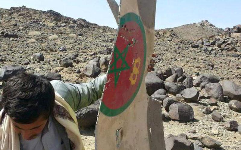 Yémen: les photos relayées sur le web pourraient être celles du corps du pilote marocain