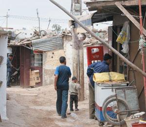 Démolition des baraques du Douar Skouila
