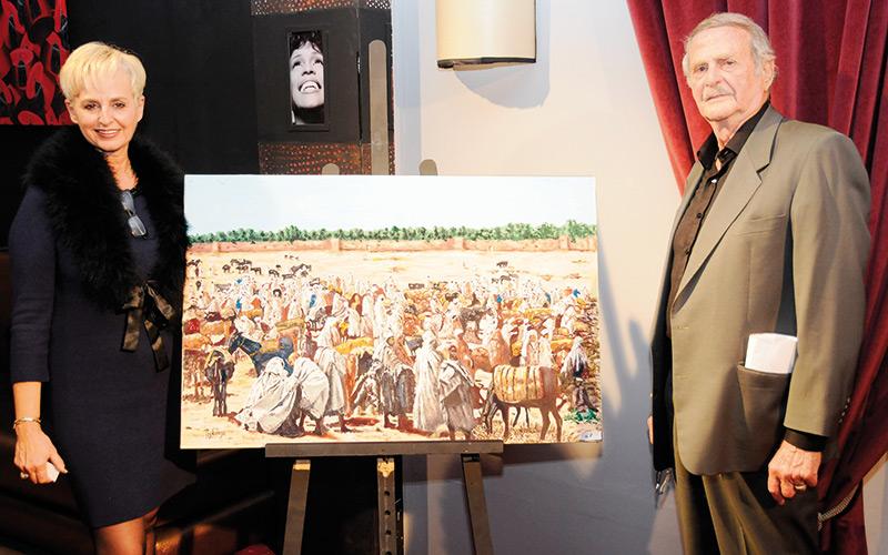 L'ambassadeur du monde berbère expose à Marrakech