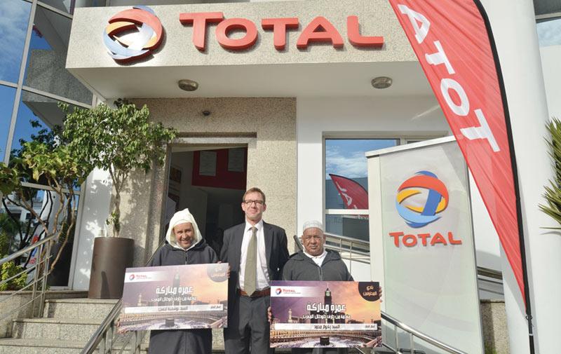 Total Maroc récompense ses meilleurs  revendeurs