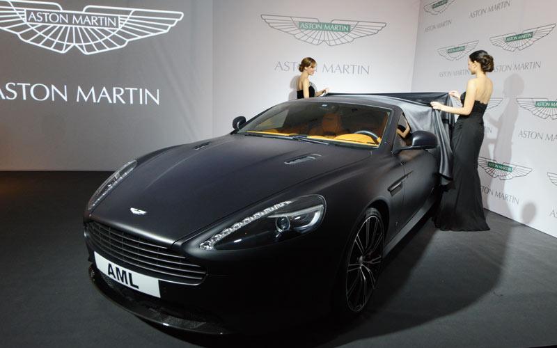 Aston Martin: La voiture de James Bond arrive au Maroc