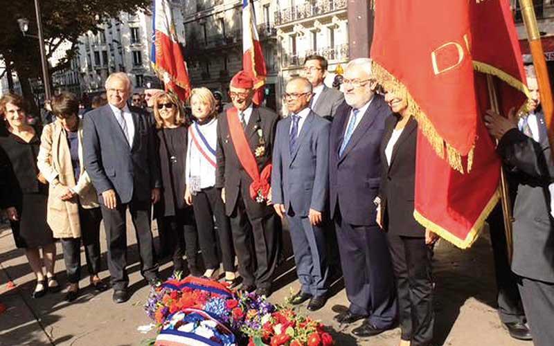 France : Hommage  à Feu SM Mohammed V