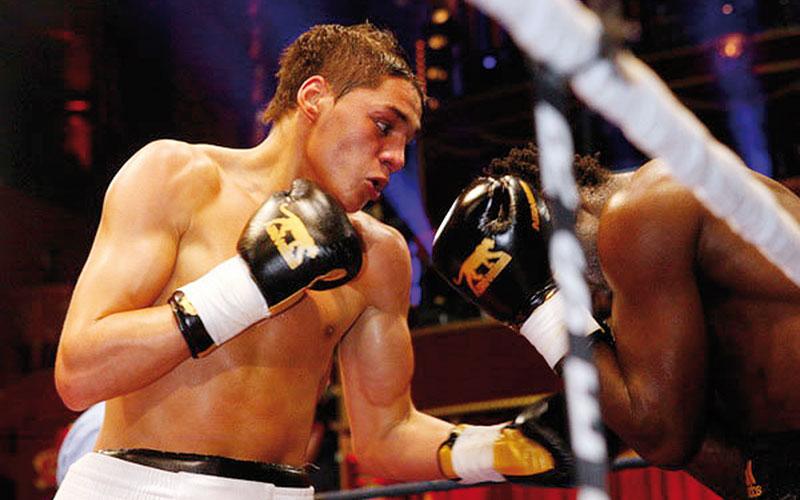 Le boxeur Ahmed El Mousaoui affronte l'Espagnol Aitor Nieto