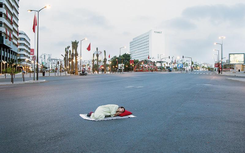 Youssef Lahrichi signe sa première exposition : «Rêveries urbaines» à la Chambre claire