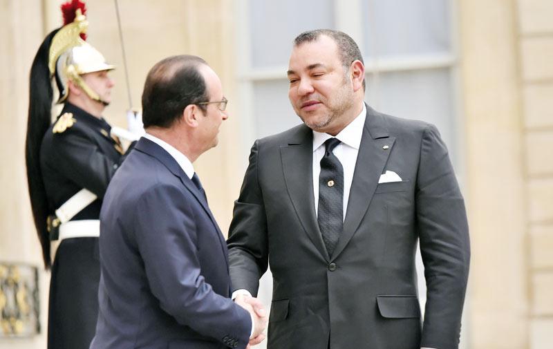 SM le Roi adresse un message de condoléances au Président français suite aux attentats terroristes ayant visé des quartiers de Paris