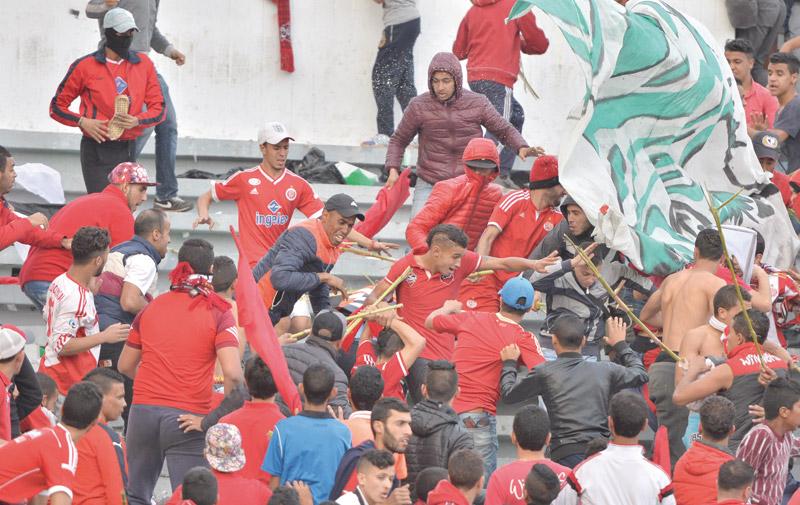 Violences au derby : jusqu'à un an de prison ferme pour des casseurs