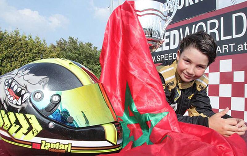 Karting : Un jeune pilote  marocain s'illustre à l'Eurofinale