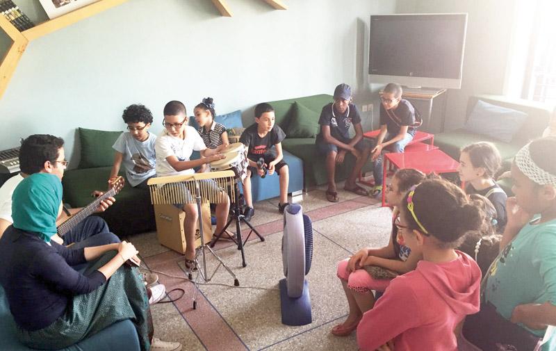 «Dream Up» au Maroc: 60.000 euros pour illuminer la «voix» des jeunes de Sidi Moumen