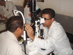 35.000 aveugles à cause du glaucome