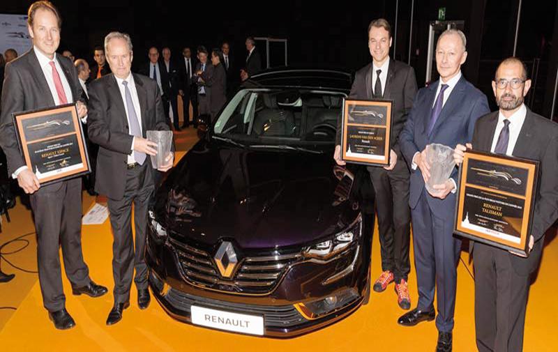 Renault: Une seule soirée, trois sacres!