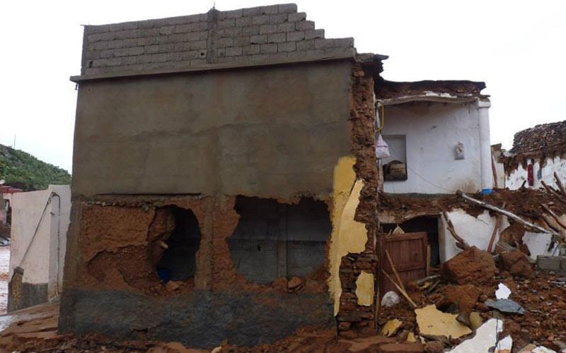 Inondations : effondrement de 177 vieilles bâtisses dans la province de Tata
