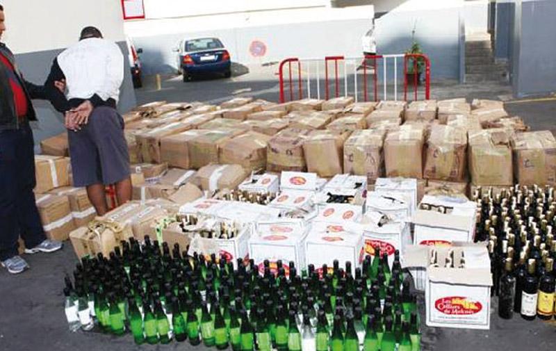 Casablanca : Saisie de boissons alcoolisées et arrestation de 18 suspects en une seule matinée