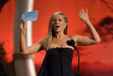 Jennifer Aniston en route pour les Oscars, elle joue les actrices modèles