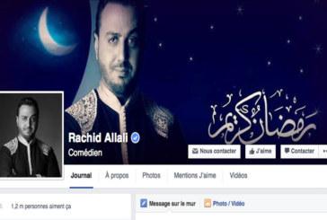Avec 1,2 million de fans sur sa page Facebook: Rachid Allali  enflamme la Toile