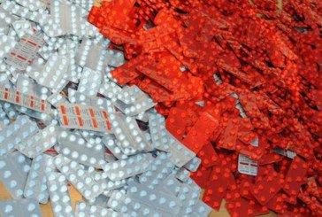 Tanger : Saisie de plus de 250 comprimés psychotropes