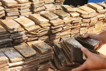 Saisie de près de 900 kg de haschich dans une localité près d'Erfoud