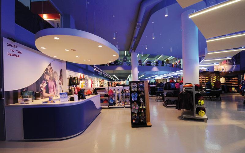 Inauguration: Premier magasin d'Intersport à Casablanca