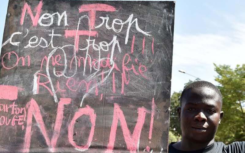 Burkina Faso: l'opposition appelle à un «printemps noir» contre la dictature