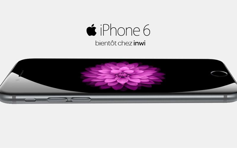 L'Iphone 6 disponible chez Inwi