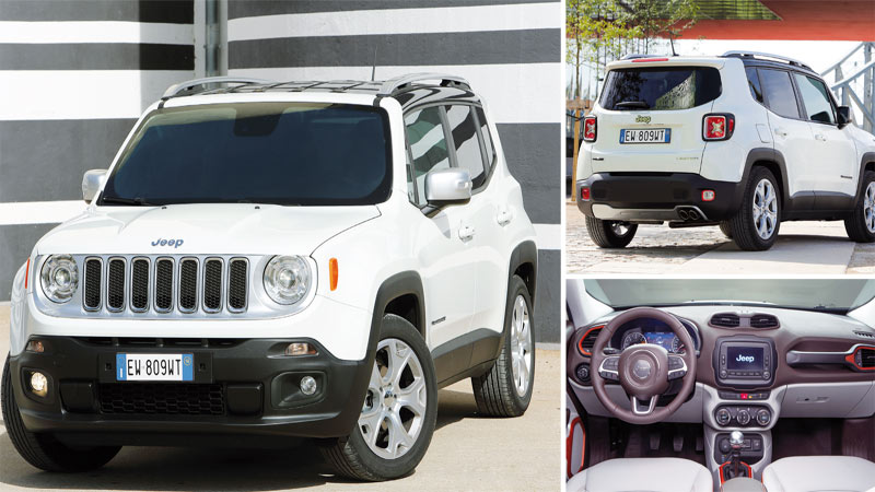 Essai Jeep Renegade: Un bien viril étasunien