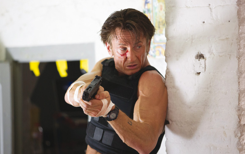 «The Gunman»: Sean Penn, dingue de la gâchette