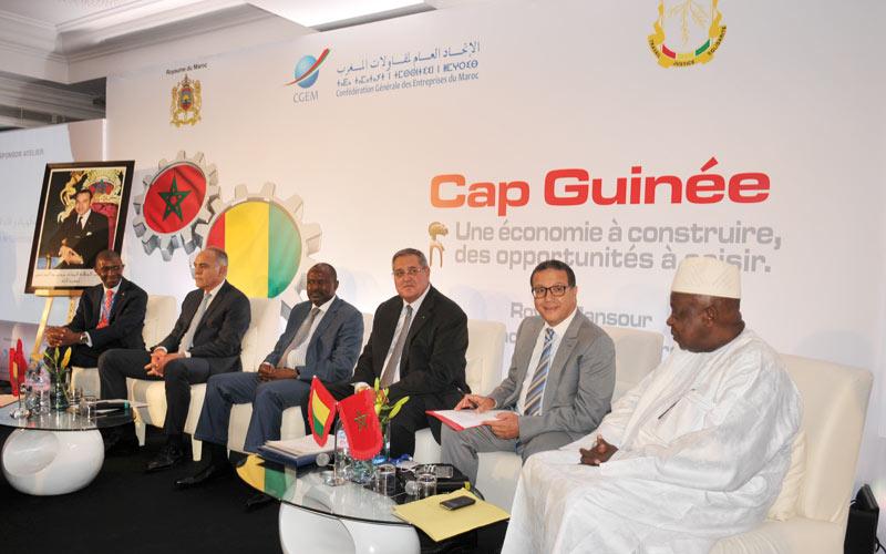 Forum économique maroco-guinéen: Premières pierres d'une collaboration durable