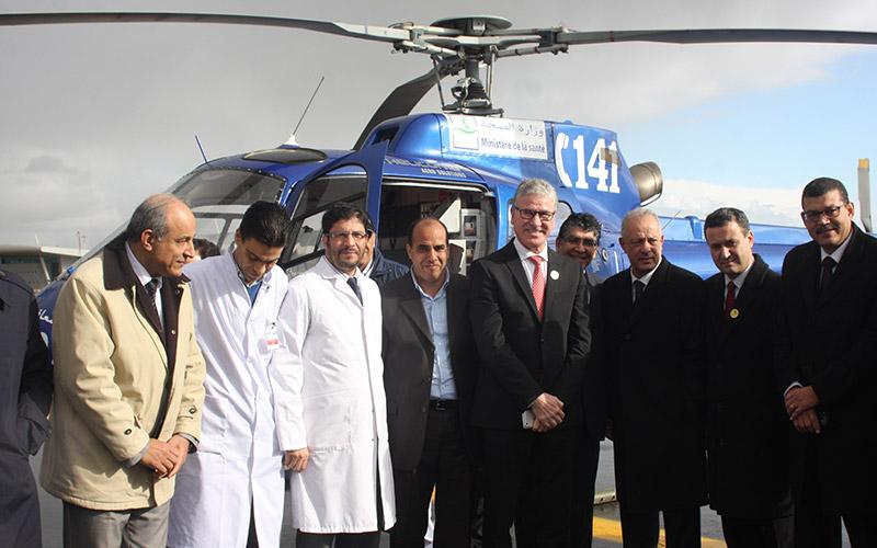 Le SAMU d'Oujda désormais équipé d'un hélicoptère