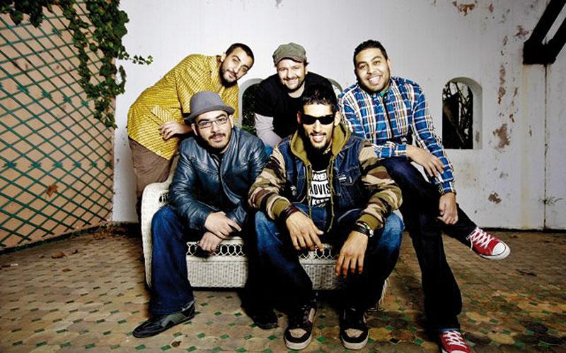 Concert de Hoba Hoba Spirit  au B-Rock de Casablanca