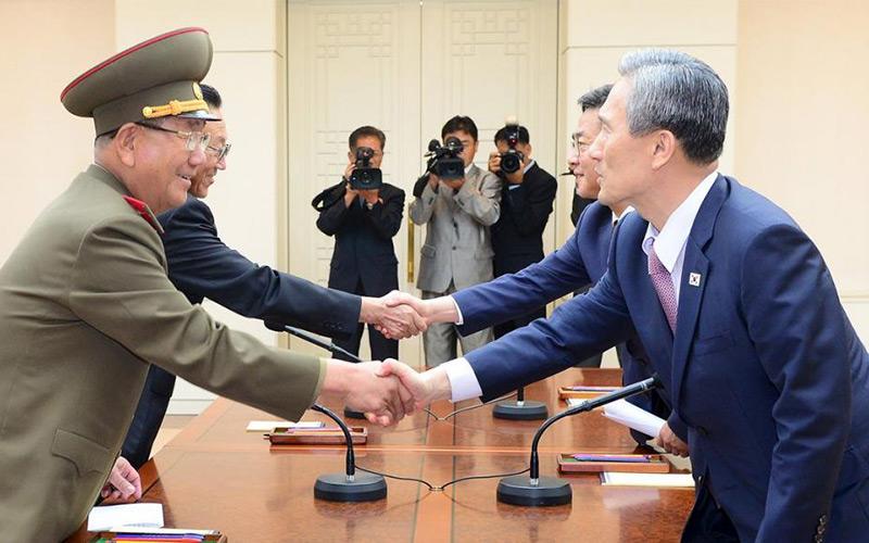 Après des négociations marathon, les deux Corées ont trouvé un accord