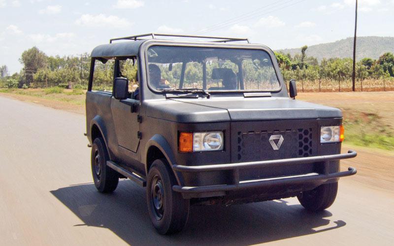 Mobius Motors : Un 4×4 low cost pour l'Afrique