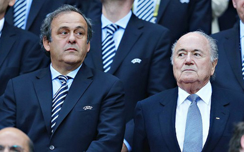 Fifa : La chambre d'instruction veut faire appel de la suspension de Platini et Blatter