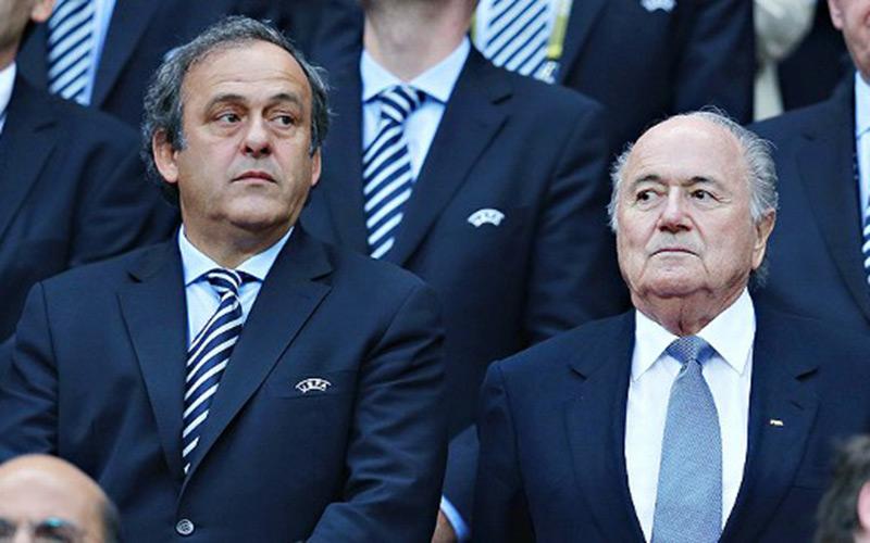 Fifa : La chambre d'instruction veut faire appel de la suspension de Platini et Blatter