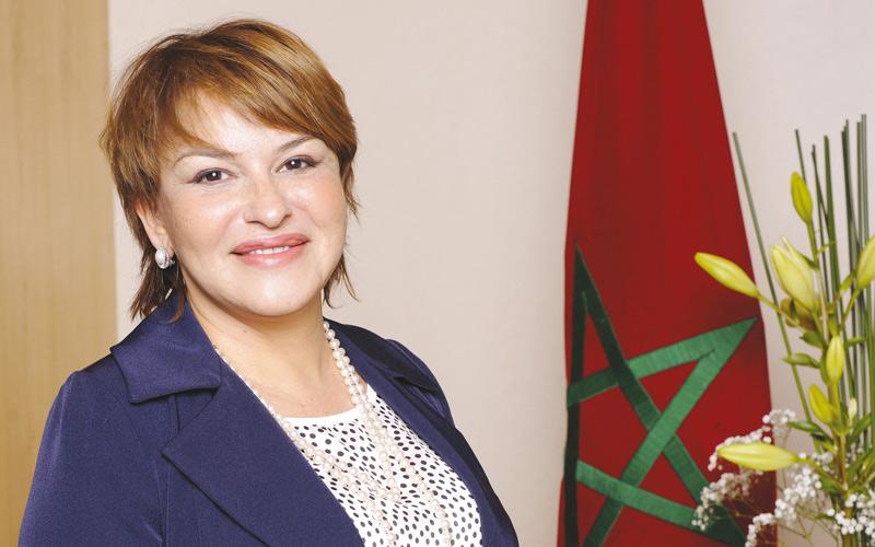 Elhaité élue à l'unanimité  vice-présidente de l'Internationale Libérale