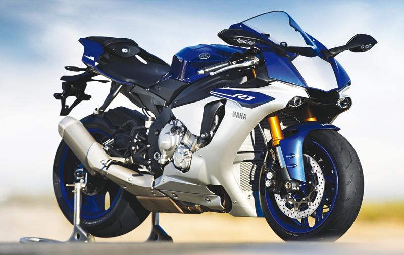 Yamaha R1: L'âme d'une MotoGP !